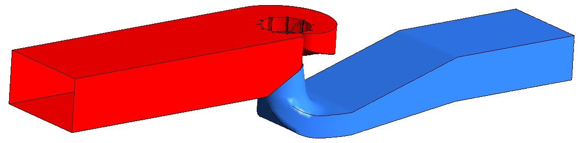 Vituální prototyp Kaplanovy turbíny.